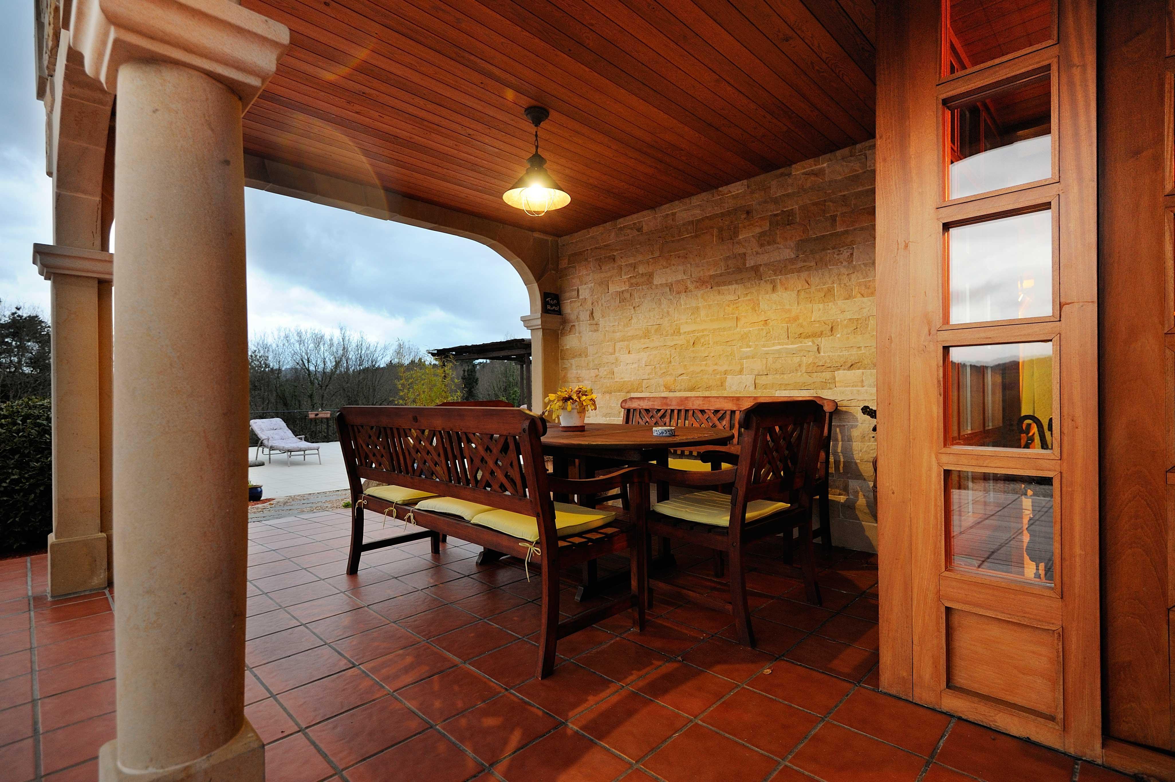Exteriores la casa de madera - La casa de madera ...